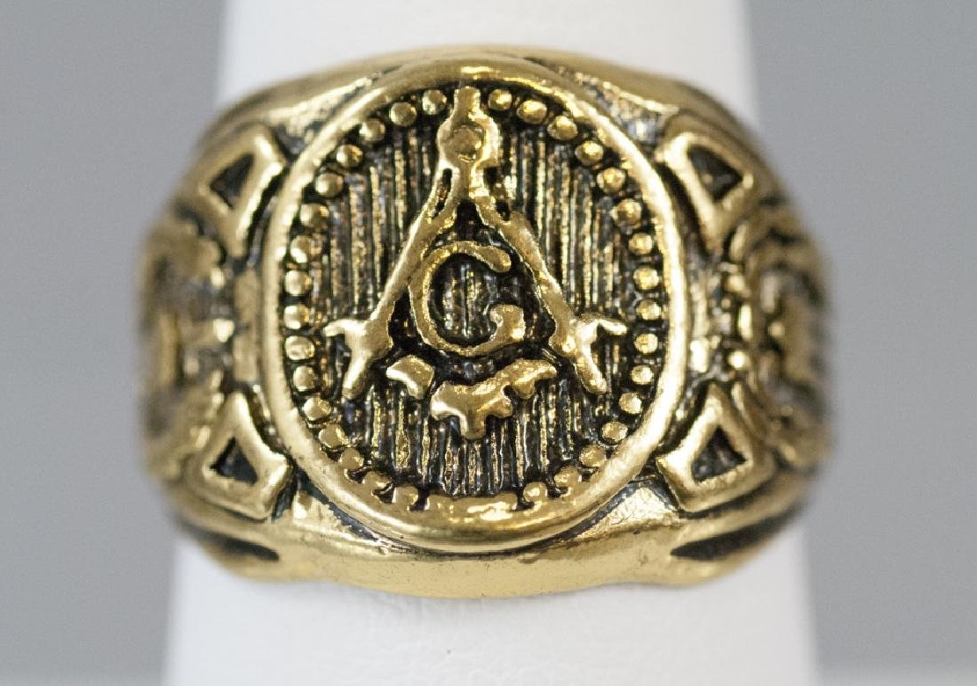 Masonic / Fraternal Organization Signet Ring
