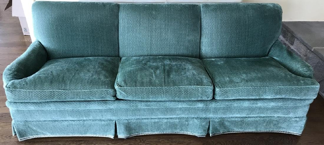 Custom Upholstered Down Blend Contemporary Sofa