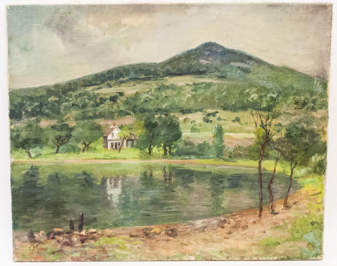 Ethel Evans - American Landscape Oil Painting