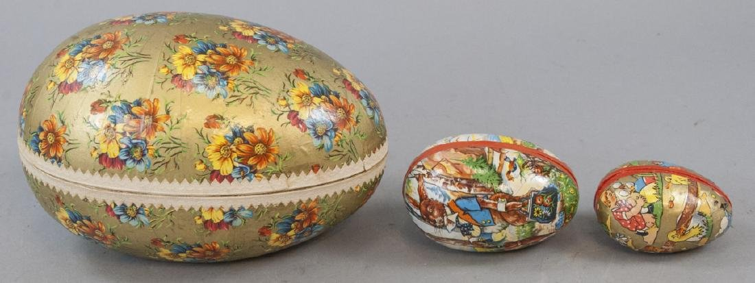 Group of Antique & Vintage Germany Easter Eggs
