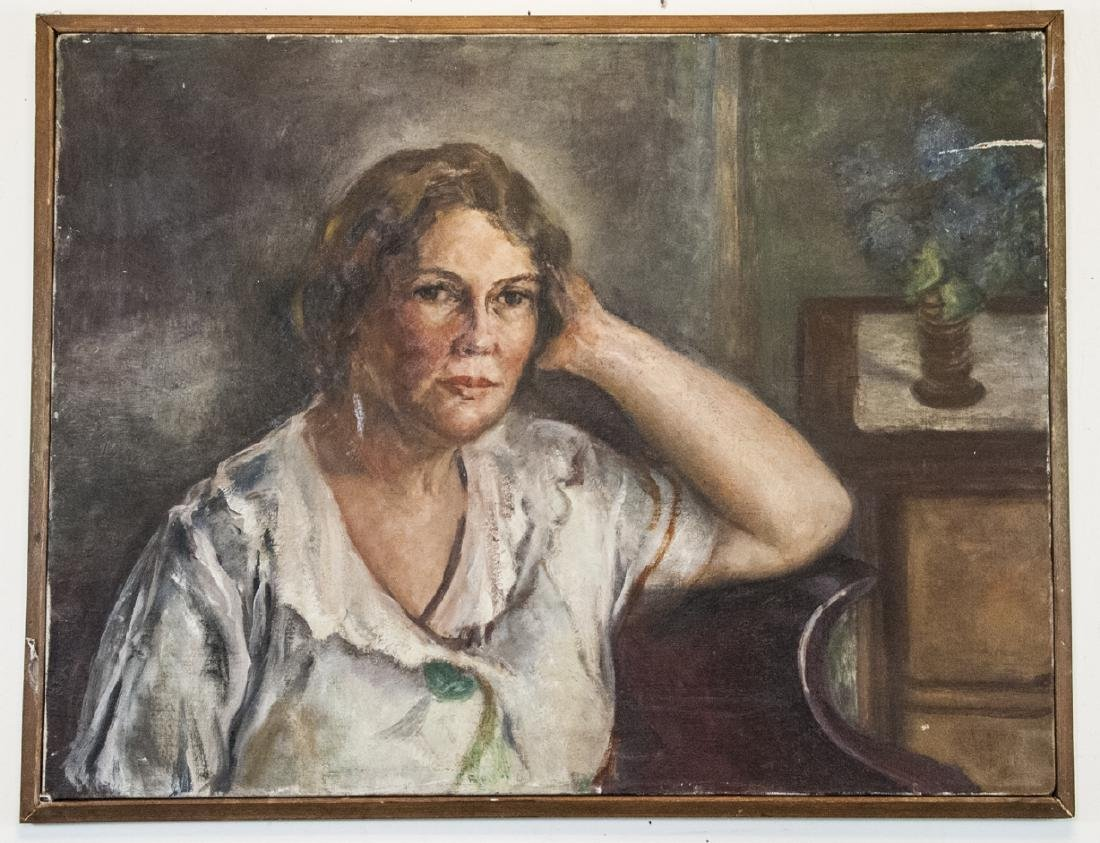 Grace Huntley Pugh  (1912 - 2010) Oil Painting