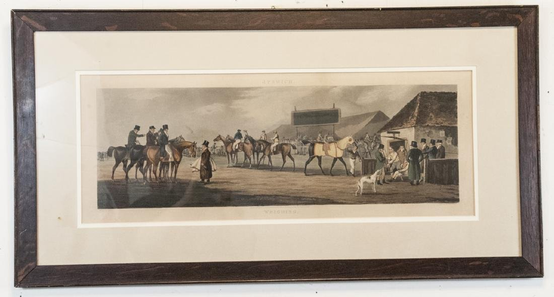 Antique 19th C English Hand Colored Engraving