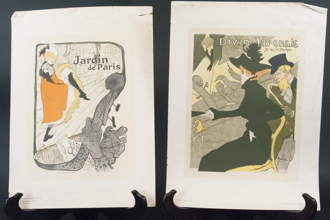 Jane Avril Jardin de Paris & Divian Japonais Print