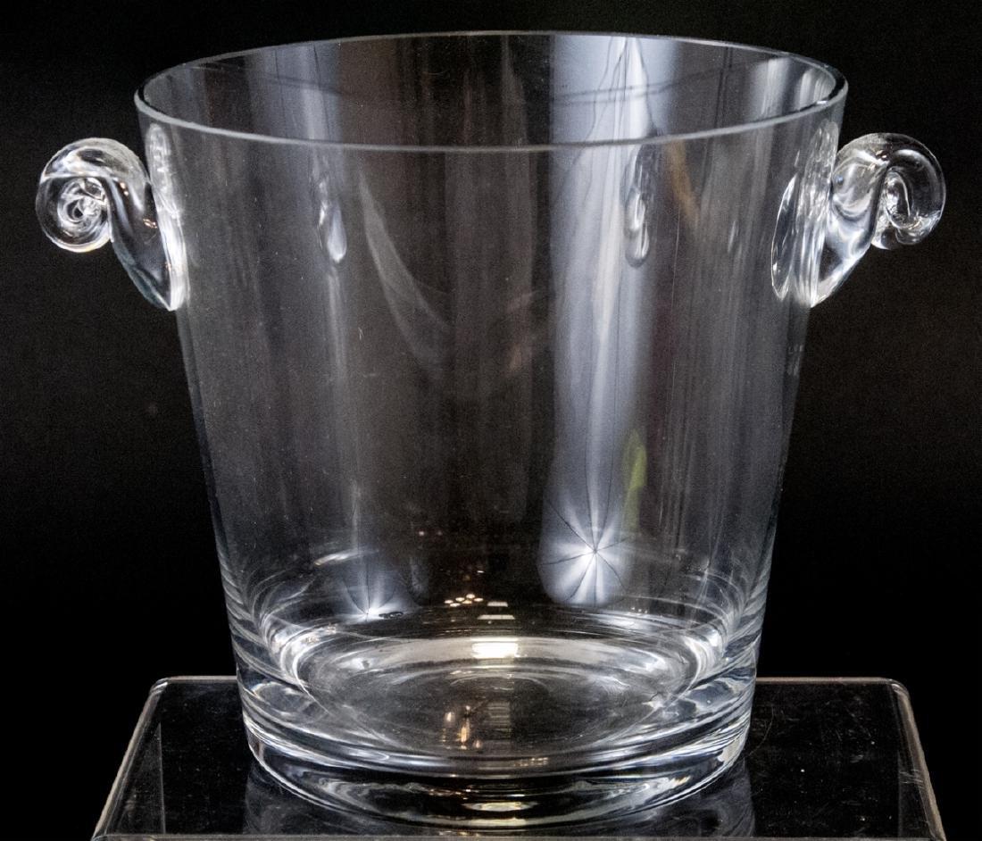 Contemporary Tiffany & Co Art Glass Ice Bucket