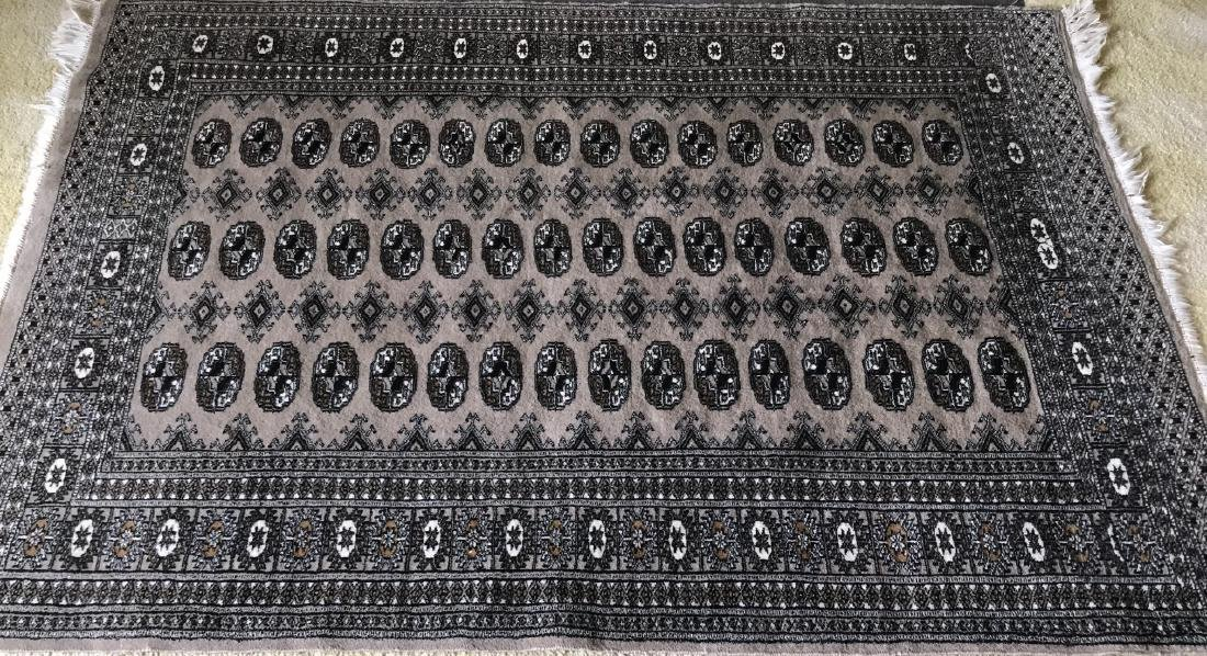 Vintage Persian Bokara Style Carpet / Rug