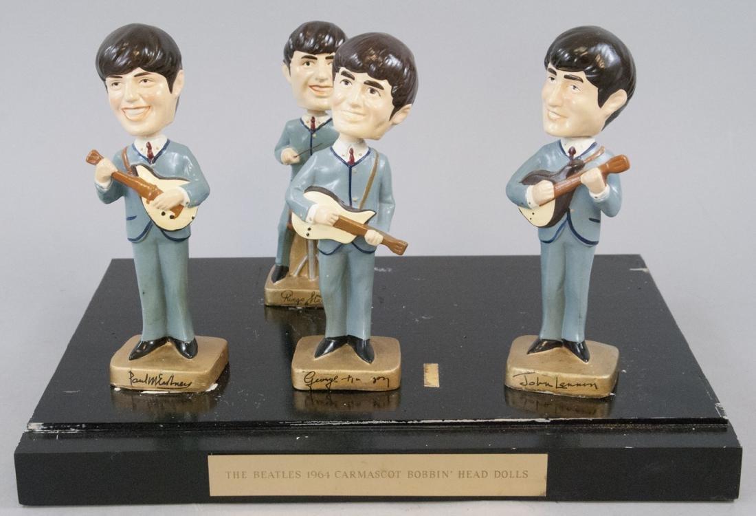 Beatles Bobb'n Head Promo Dolls Complete Set