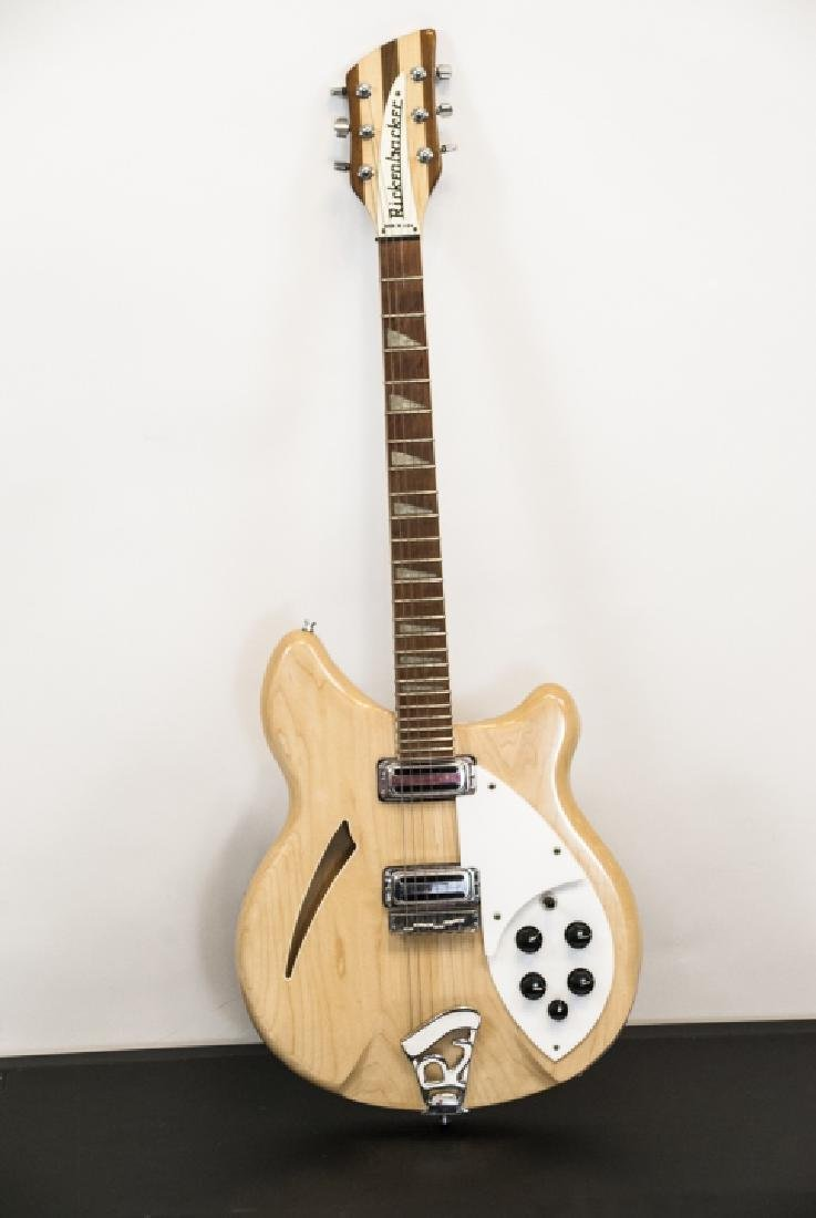 1996 Rickenbacker Blonde Wood Guitar