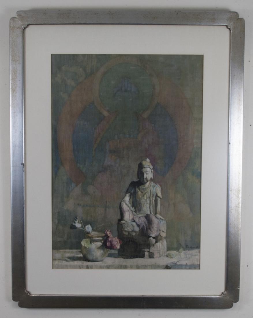 Hovsep Pushman (1877 – 1966) Framed Asian Print