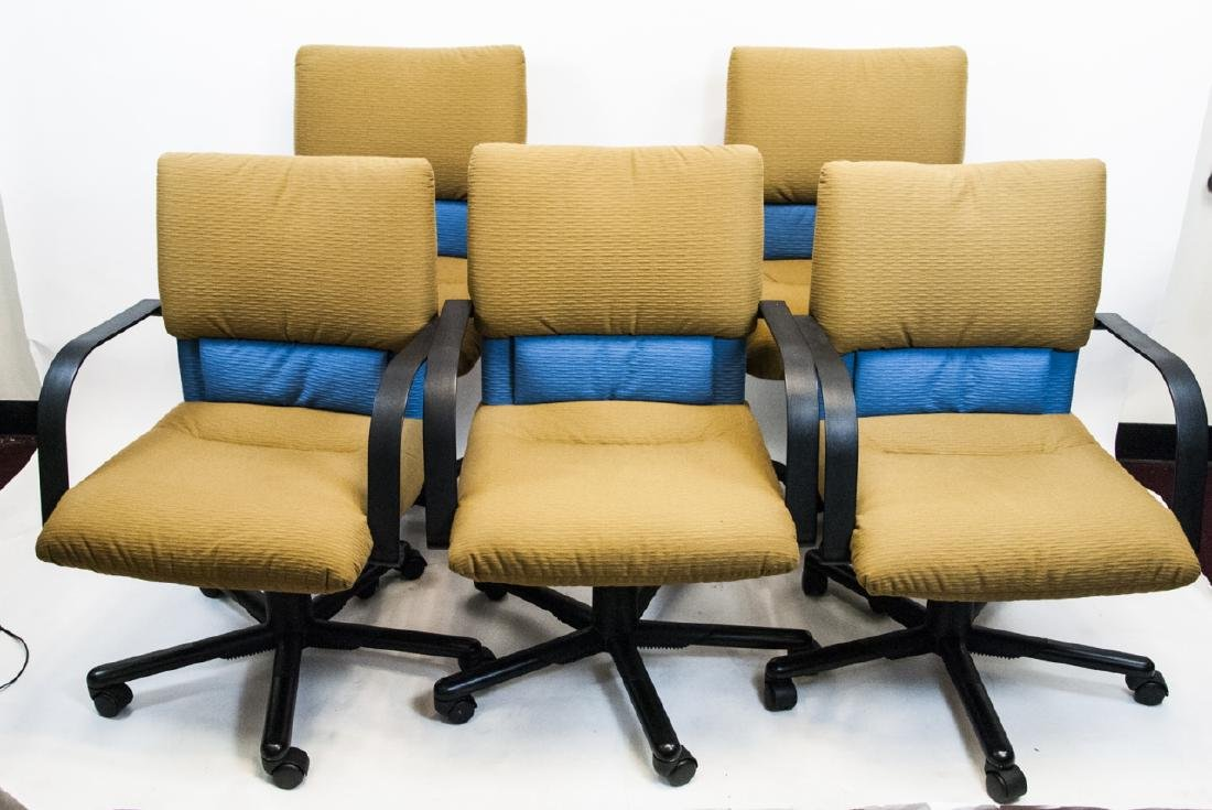 Five Office / Desk or Boardroom Chairs by Vitra