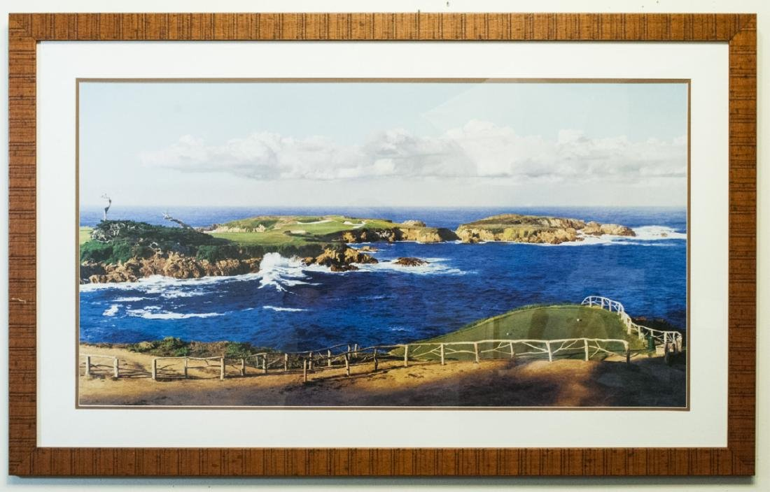 Framed Print of Seascape by Tim Schmidt