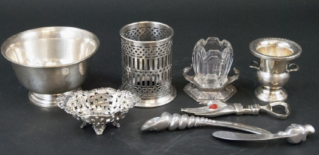 Collection Sterling & Silver Plate Serving Items