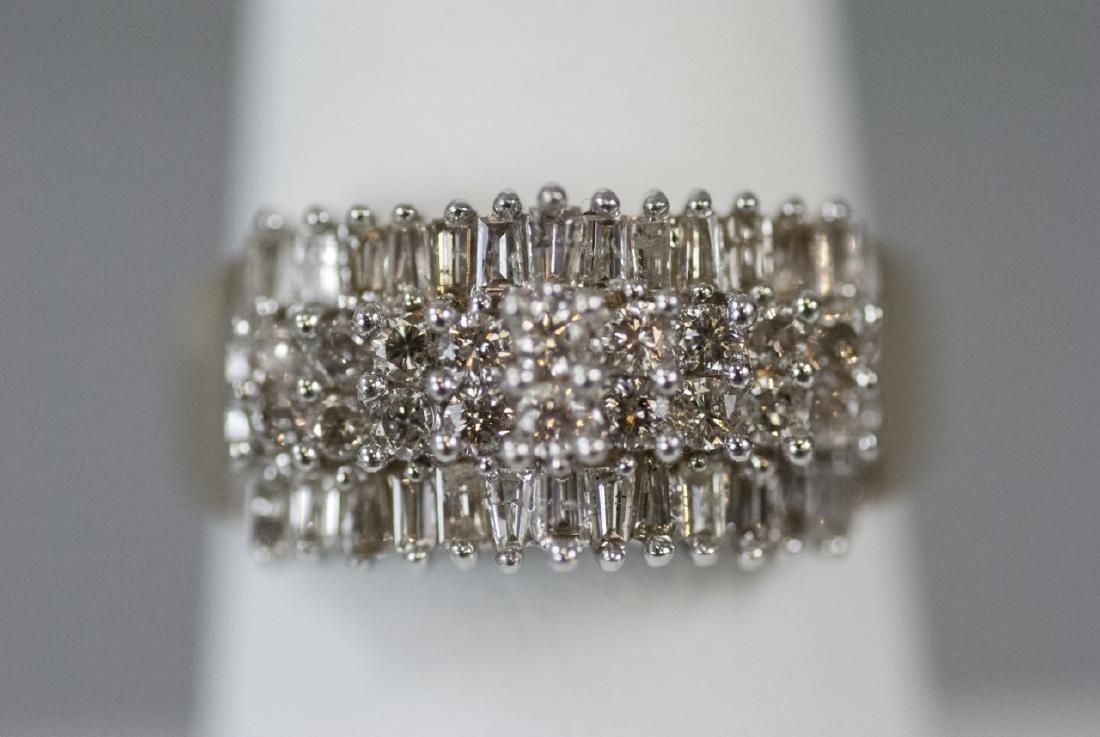 Estate / Retro Yellow Gold & 1 Carat Diamond Ring