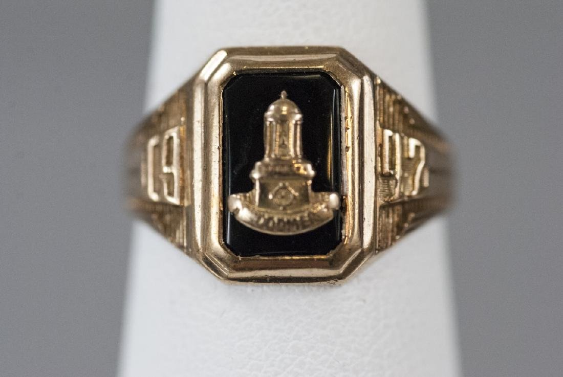 Estate 1952 Woodmere College Yellow Gold Ring