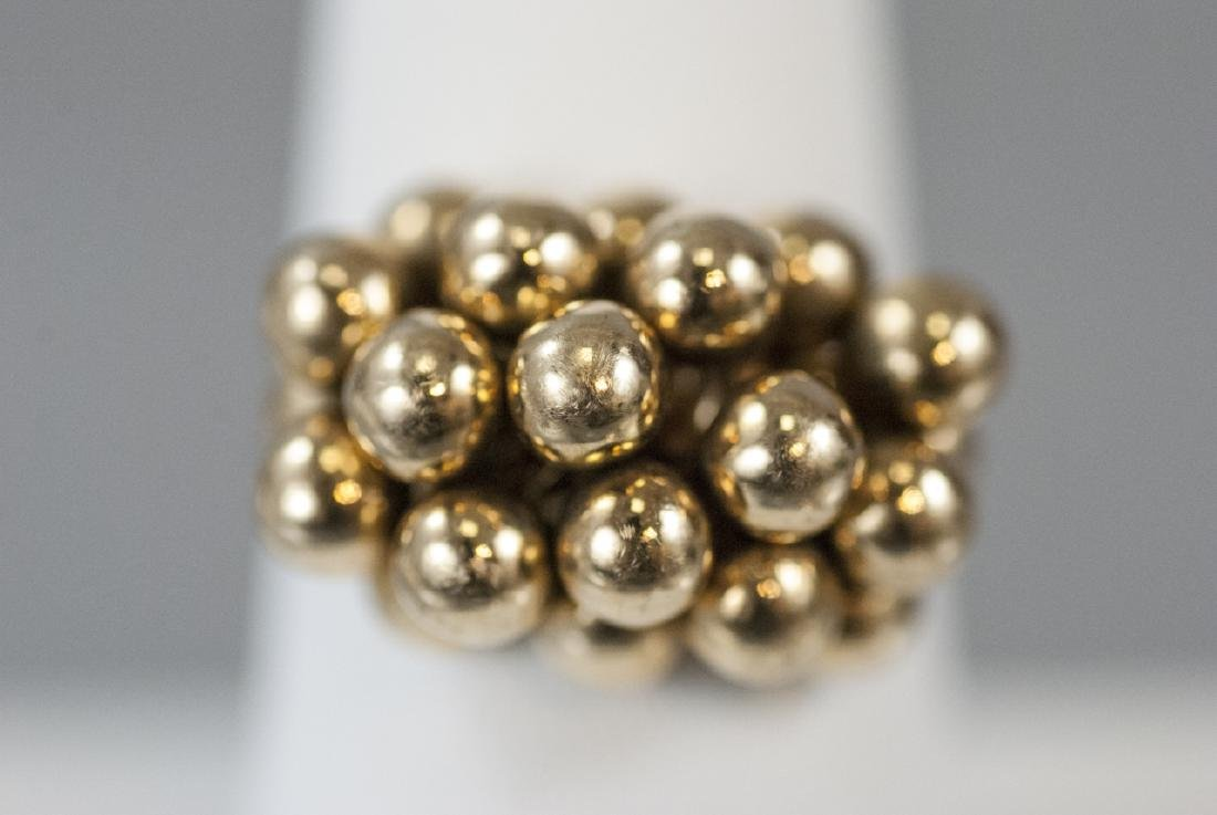 Estate 14kt Yellow Gold Bubble Ring