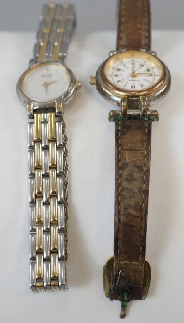 Two Vintage Ladies Wrist Watches Seiko & Fossil