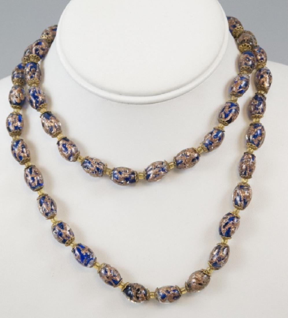 Vintage Murano Italy Art Glass Necklace Strand