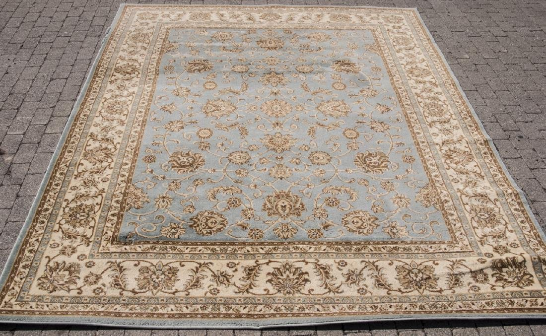 6 x 9 Light Blue Oriental Rug