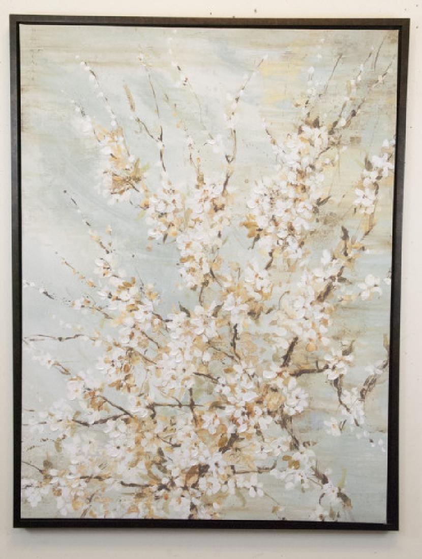Oil On Canvas Blossom Painting