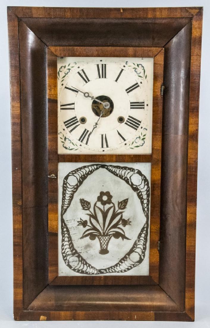 William S. Johnson Ogee Case Clock