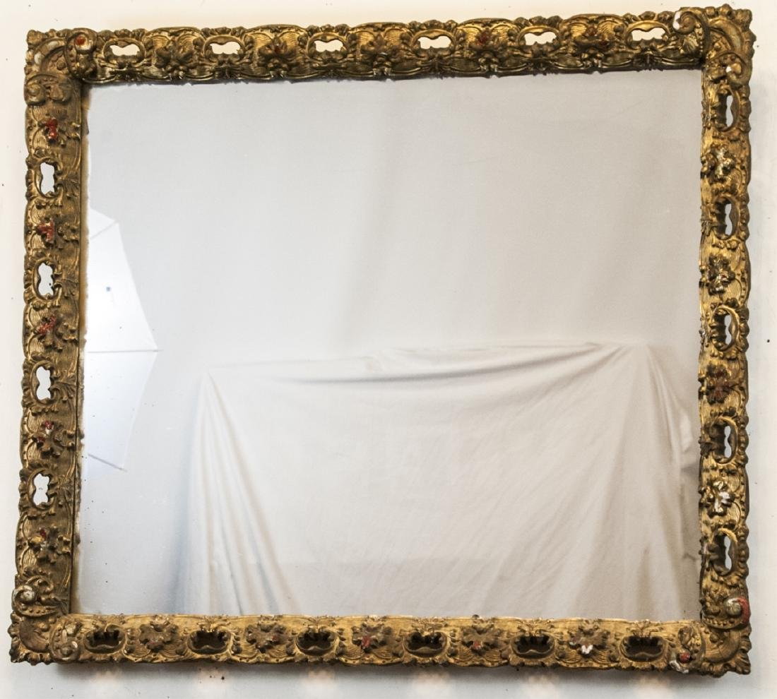 Gilt 19th Century Wall Mirror
