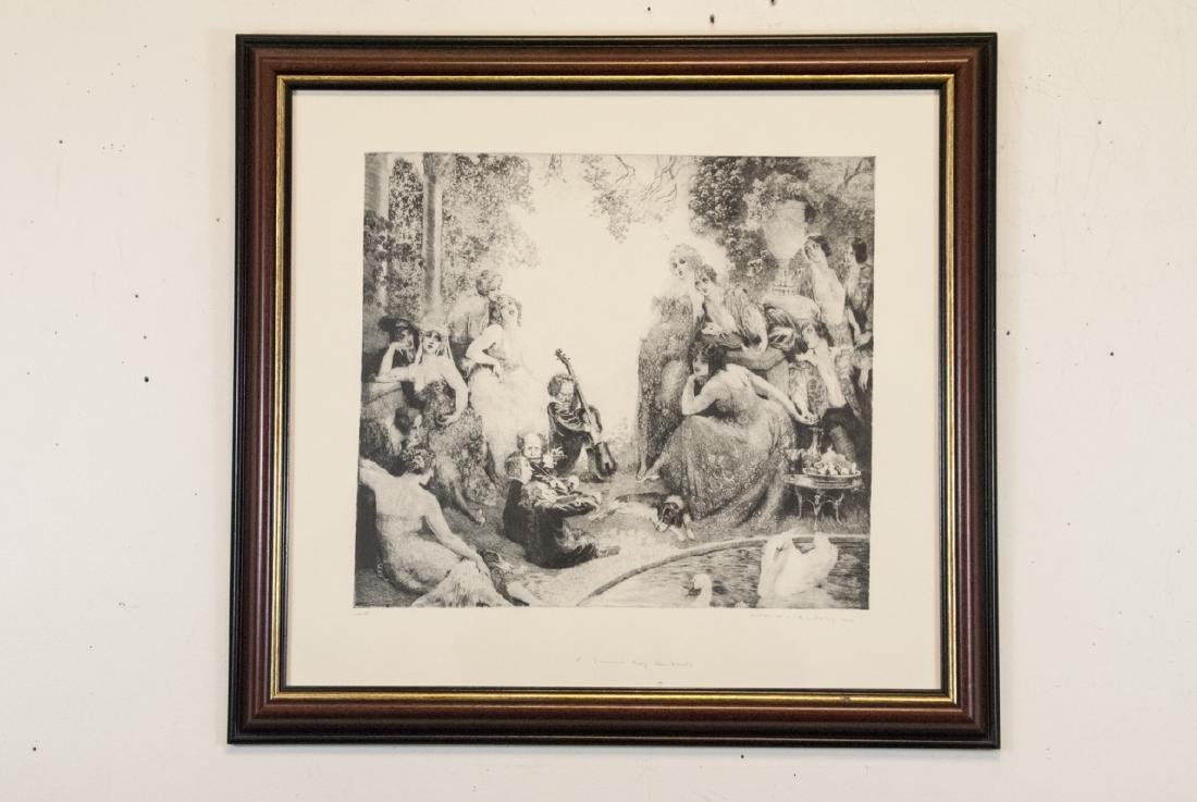 Norman Alfred William Lindsay Framed Print