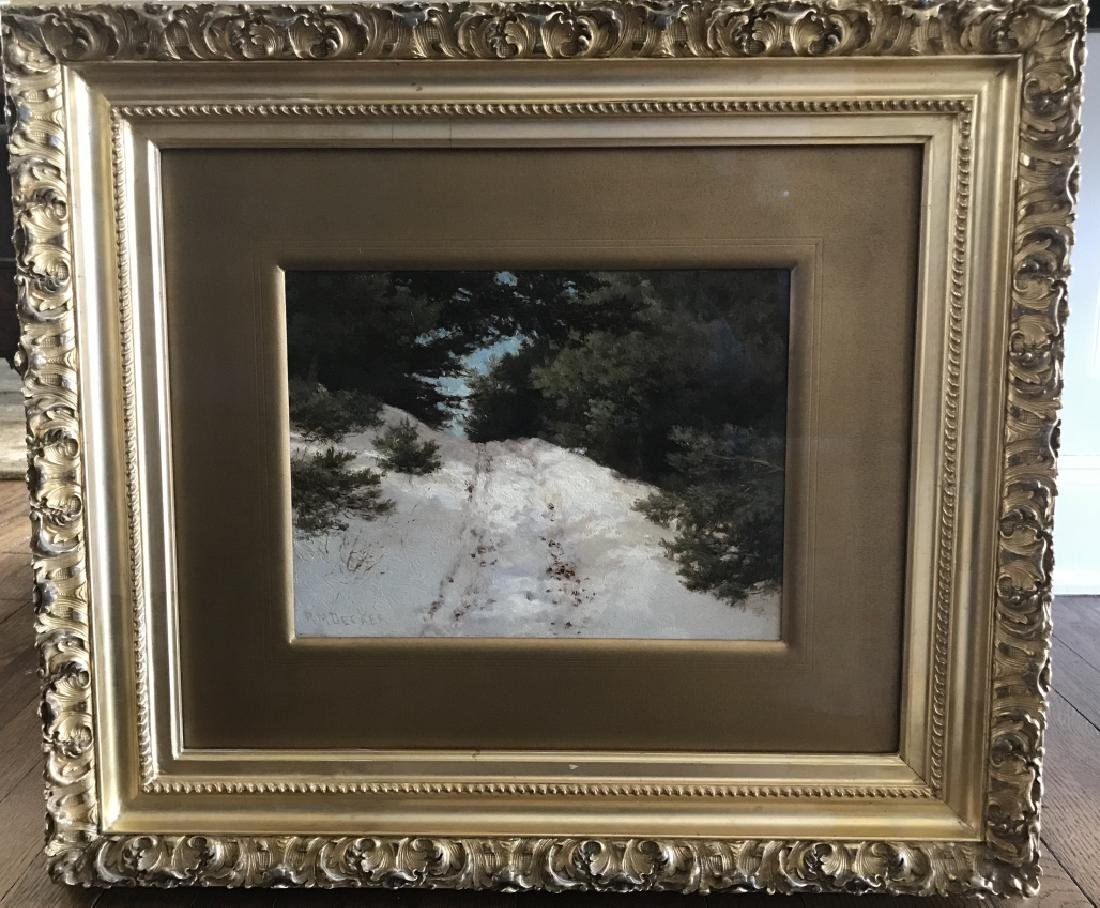 Robert Melvin Decker Antique Landscape Painting