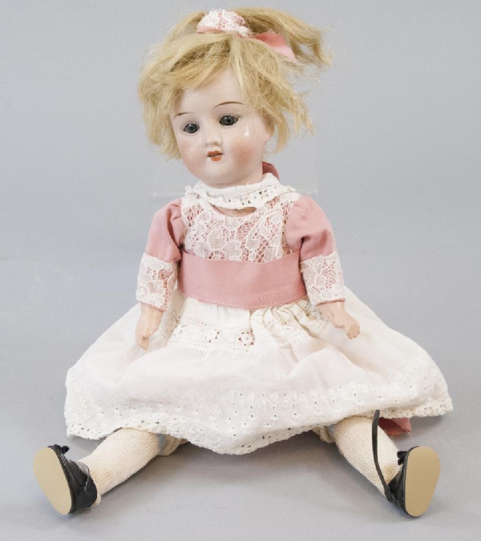 R&A Theodor Recknagel Bisque Head Doll