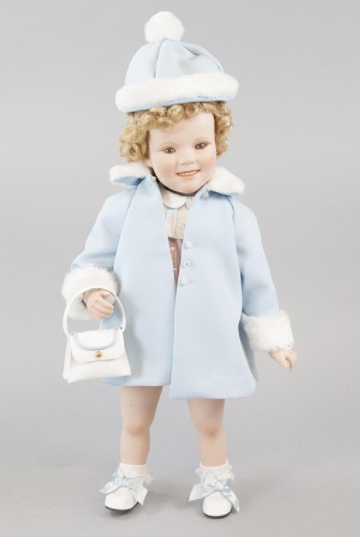 Danbury Mint Shirley Temple Sunday Best Doll