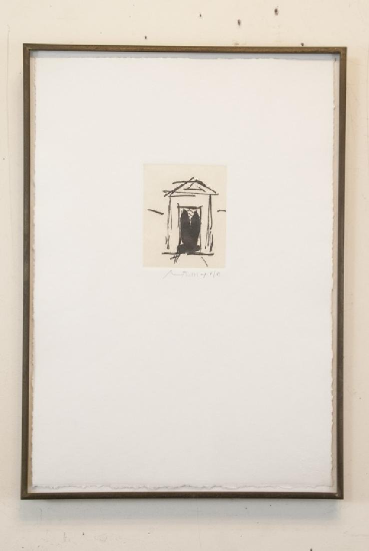 Robert Motherwell Stamped & Signed Engraving Print