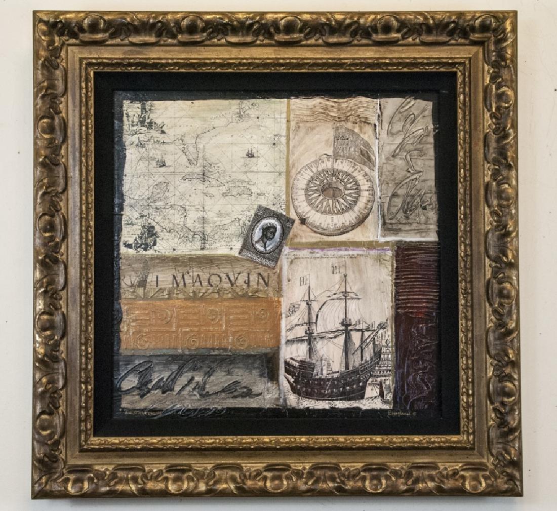 Robert Hoglund Signed & Titled Textured Art Print