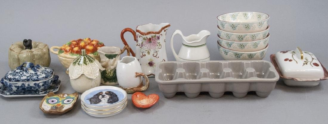 Collection of Antique & Vintage Porcelain