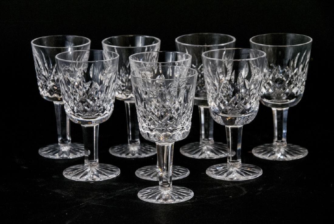 Waterford Cocktail Cordial Liqueur Lismore Glasses