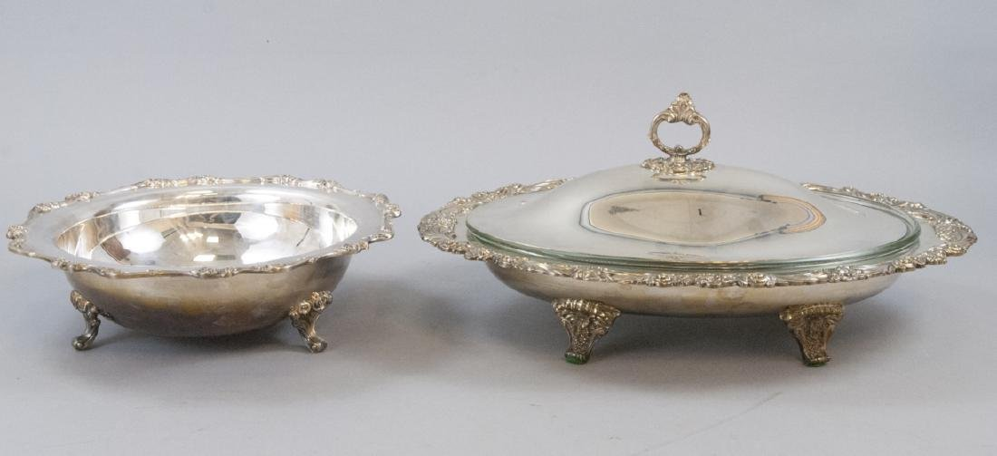 Reed Barton Wilcox Silverplate Lrge Serving Pieces