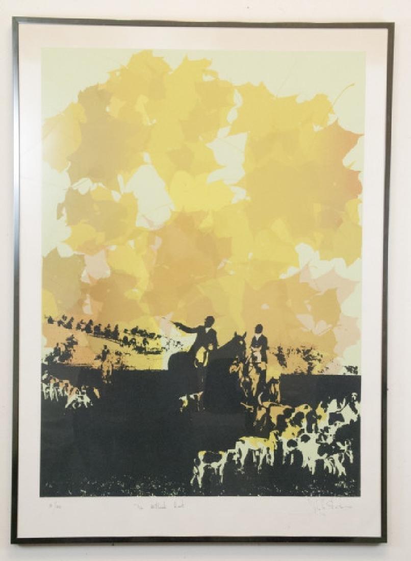 John Strich - Framed Pencil Signed Art Poster