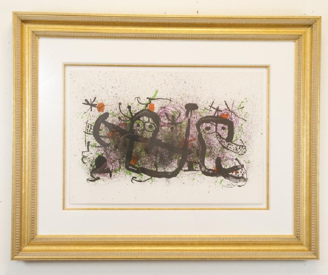"Joan Miro Lithograph Titled ""Ma De Proverbis"""