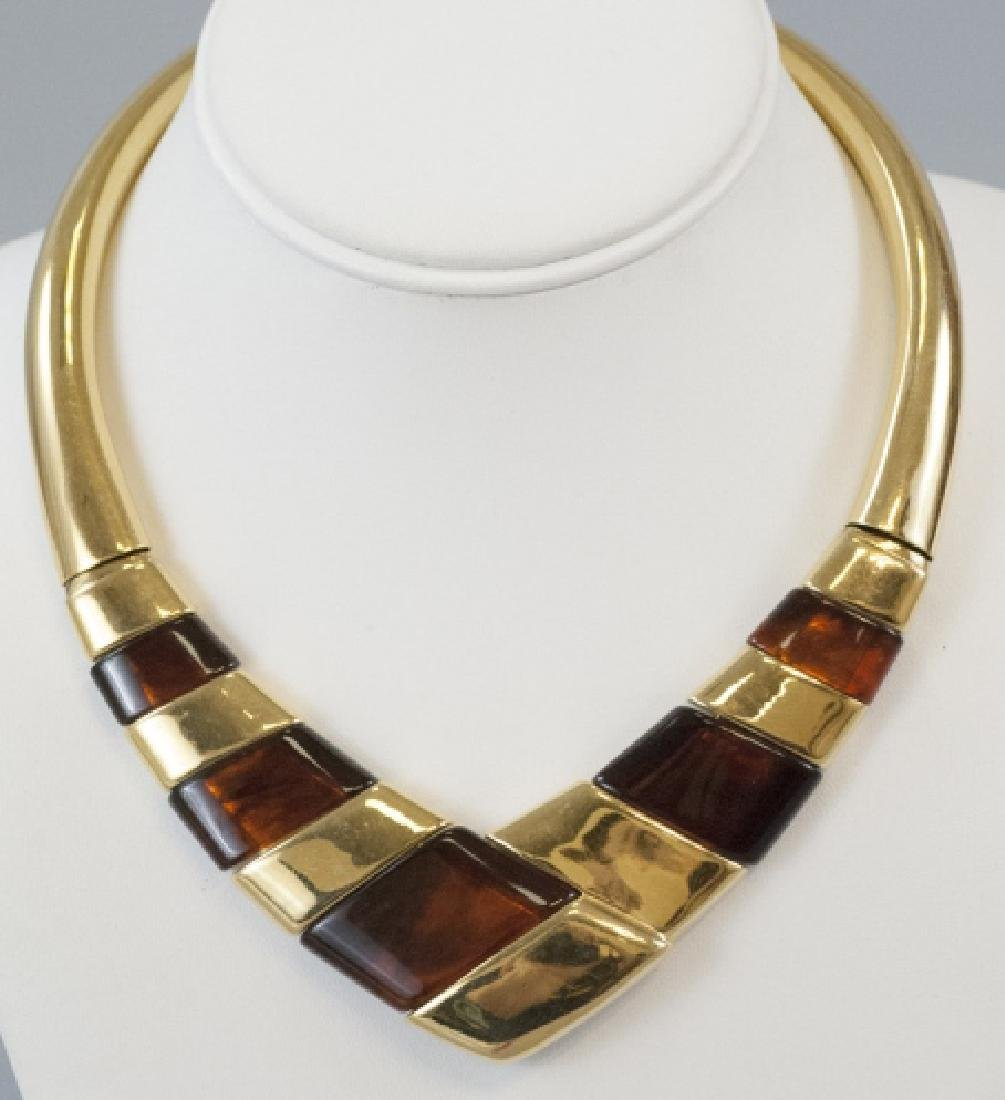 Napier Vintage Costume Jewelry Statement Necklace