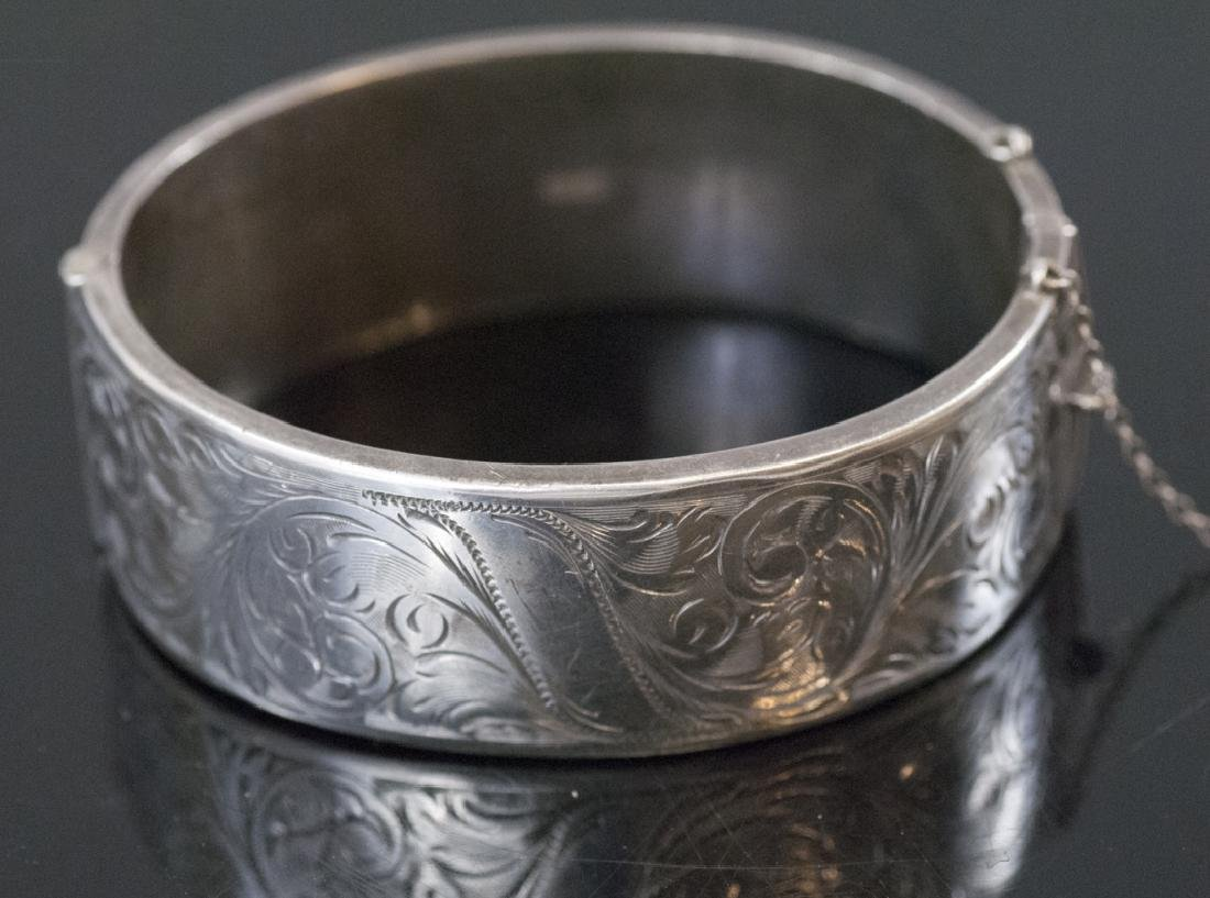 Antique 19th C Victorian Sterling Silver Bracelet