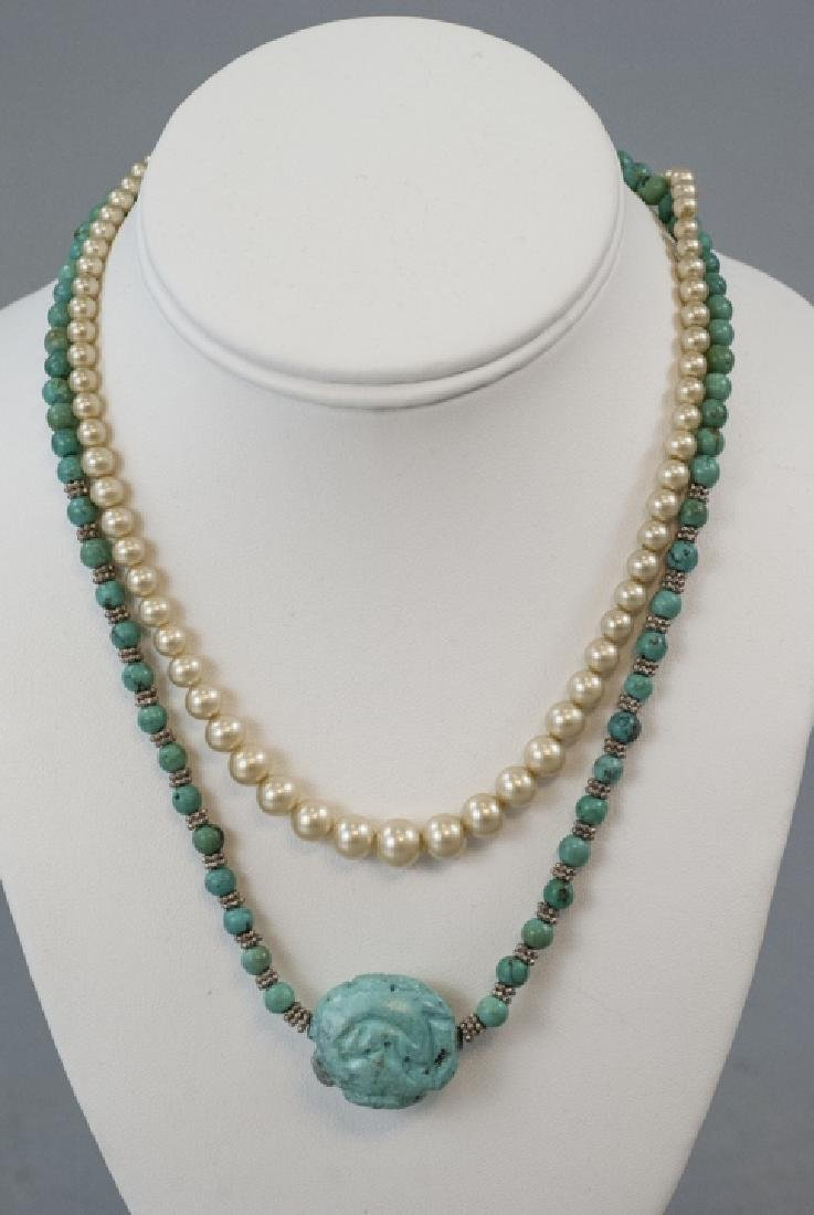 Vintage Costume Jewelry Necklaces & Charms