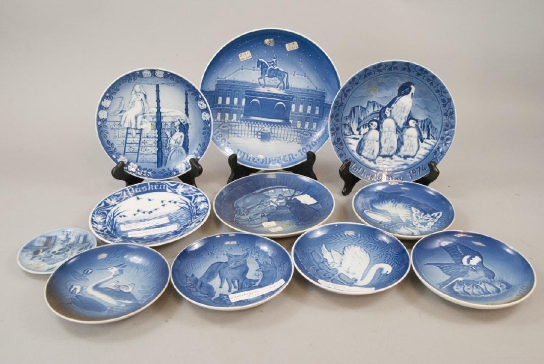 Lot of Vintage Royal Copenhagen Series Plates
