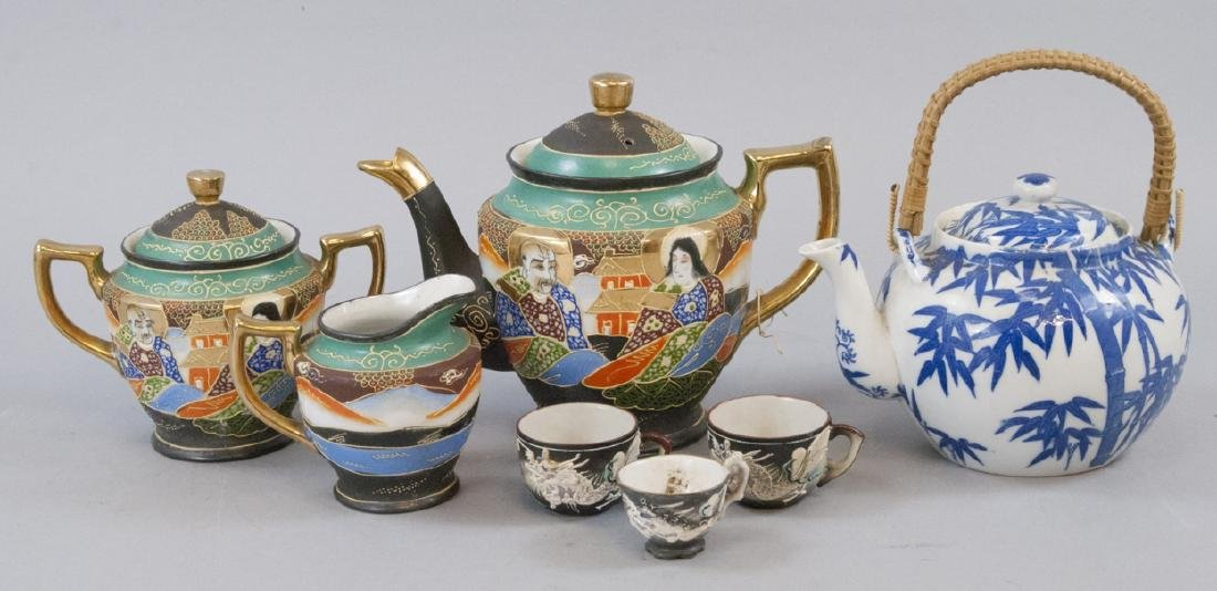 Assorted Antique & Vintage Asian Tea Sets
