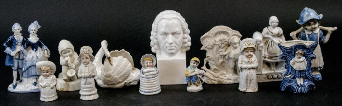Lot of Vintage & Antique Porcelain Figurines