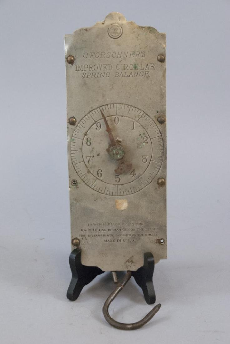 Ant. C. Forschner's Circular Spring Balance Scale