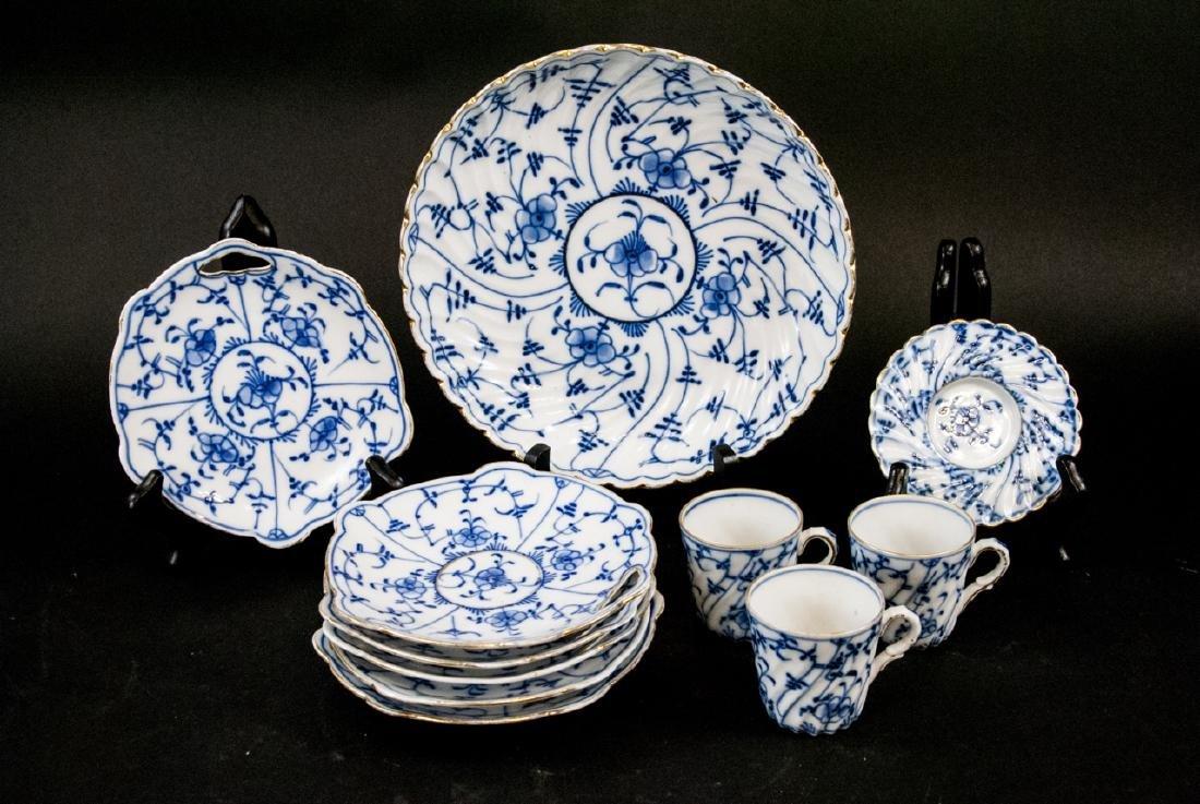 Antique Royal Bayreuth Bavaria Porcelain Lunch Set