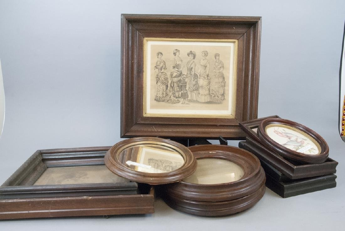 Box Lot of Antique East Lake Picture Frames