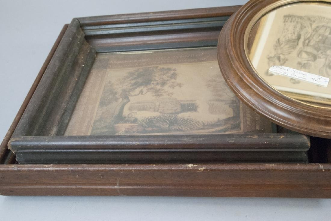 Box Lot of Antique East Lake Picture Frames - 2