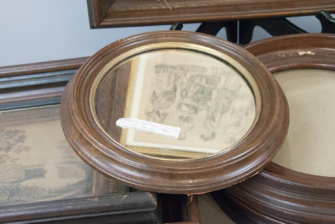 Box Lot of Antique East Lake Picture Frames - 3