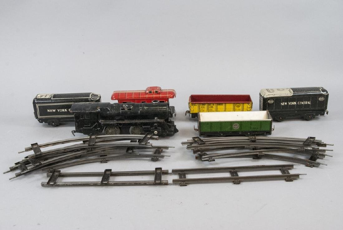 Marx Toys Vintage Electric NYC Tin Trains Track