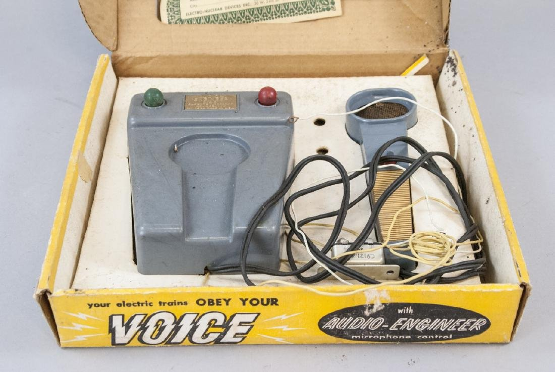 Audio Engineer Voice  Activated Toy Train Controls