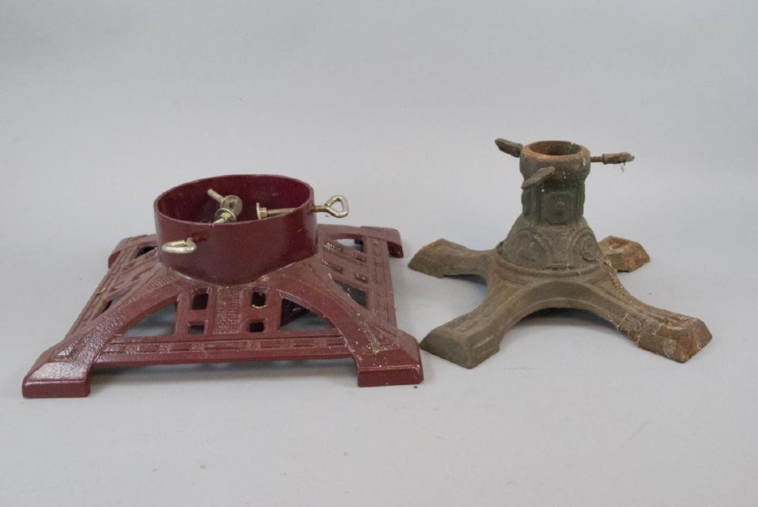 Vintage Cast Iron Christmas Tree Stands