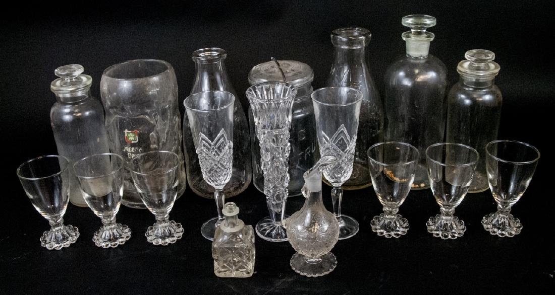 Assorted Lot Of Vintage Glass Items